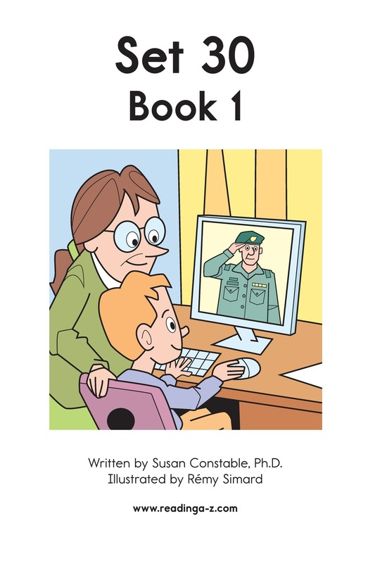 Book Preview For Decodable Passages Set 30 Book 1 Page 2