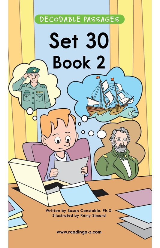 Book Preview For Decodable Passages Set 30 Book 2 Page 1