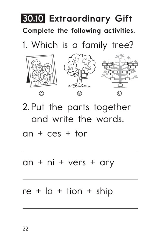 Book Preview For Decodable Passages Set 30 Book 2 Page 22