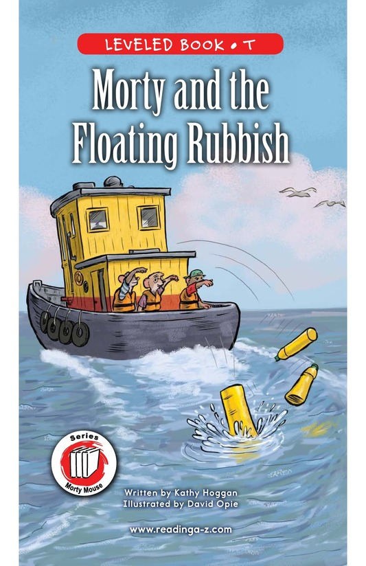 Book Preview For Morty and the Floating Rubbish Page 0