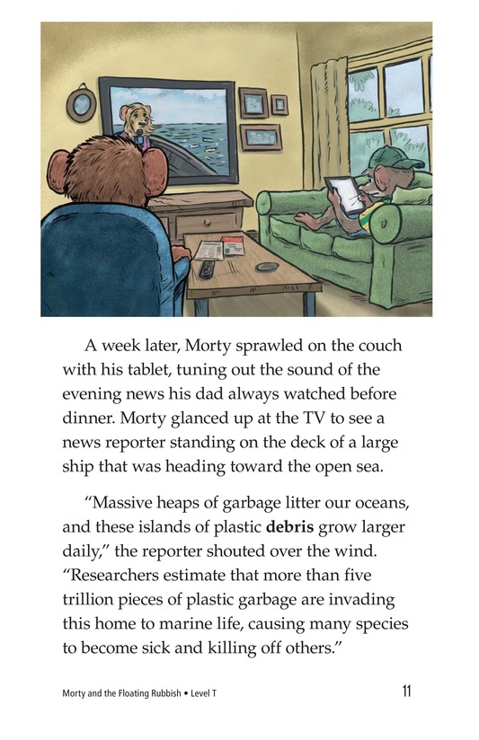 Book Preview For Morty and the Floating Rubbish Page 11