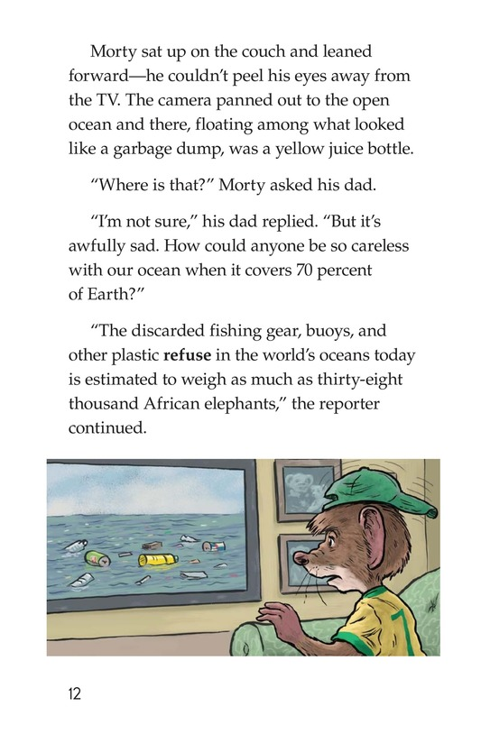 Book Preview For Morty and the Floating Rubbish Page 12