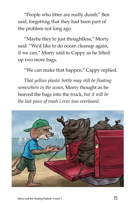 Book Preview For Morty and the Floating Rubbish Page 15