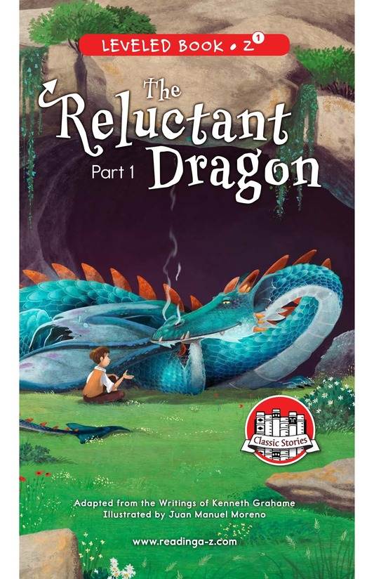 Book Preview For The Reluctant Dragon (Part 1) Page 0