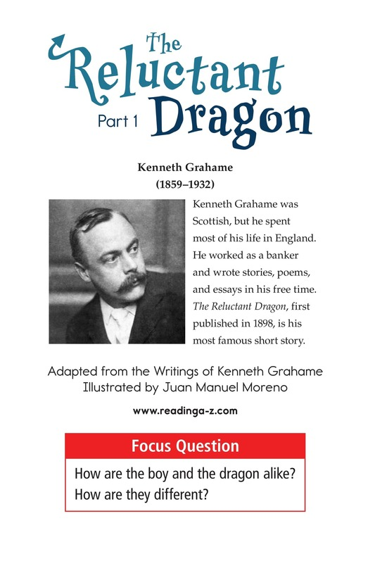 Book Preview For The Reluctant Dragon (Part 1) Page 1