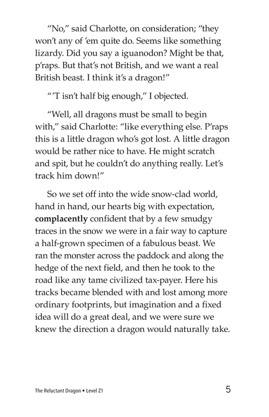 Book Preview For The Reluctant Dragon (Part 1) Page 5