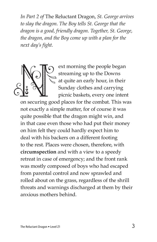 Book Preview For The Reluctant Dragon (Part 3) Page 3