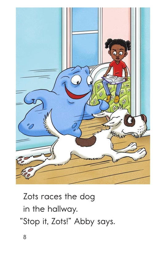 Book Preview For Stop It, Zots! Page 8
