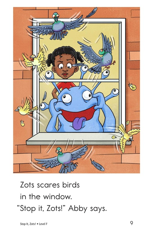 Book Preview For Stop It, Zots! Page 9