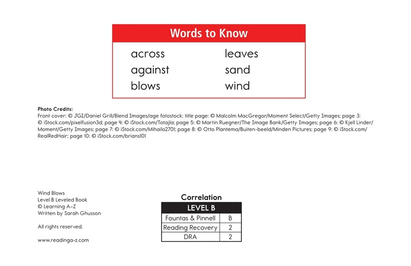 Book Preview For Wind Blows Page 2