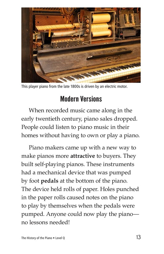 Book Preview For The History of the Piano Page 13