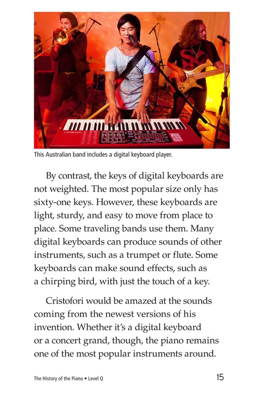 Book Preview For The History of the Piano Page 15