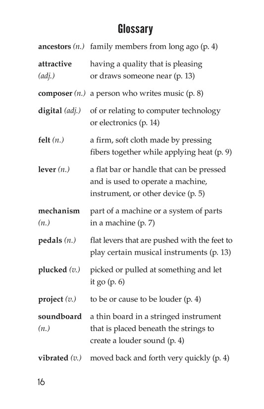 Book Preview For The History of the Piano Page 16