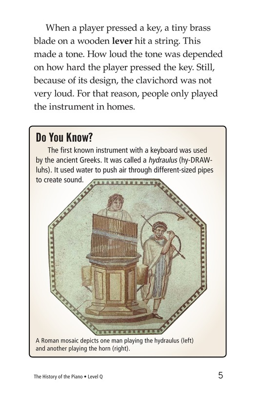 Book Preview For The History of the Piano Page 5