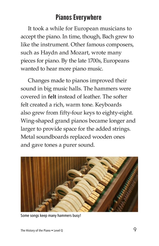 Book Preview For The History of the Piano Page 9