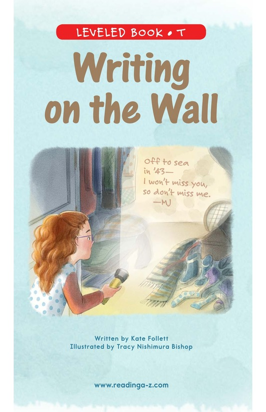 Book Preview For Writing on the Wall Page 0