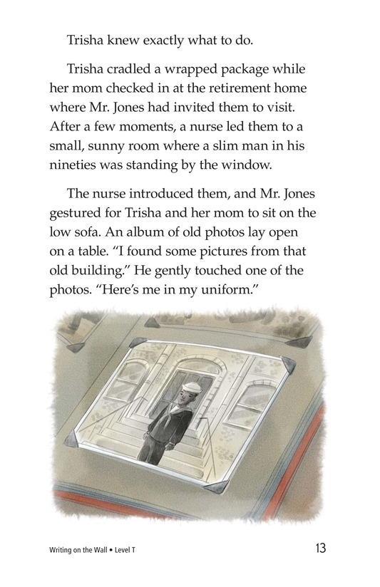 Book Preview For Writing on the Wall Page 13