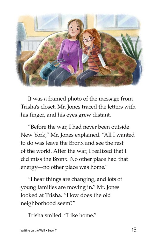 Book Preview For Writing on the Wall Page 15