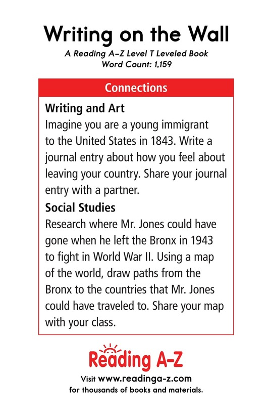 Book Preview For Writing on the Wall Page 17