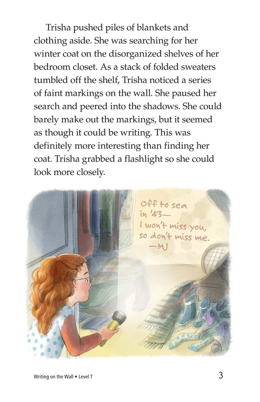 Book Preview For Writing on the Wall Page 3