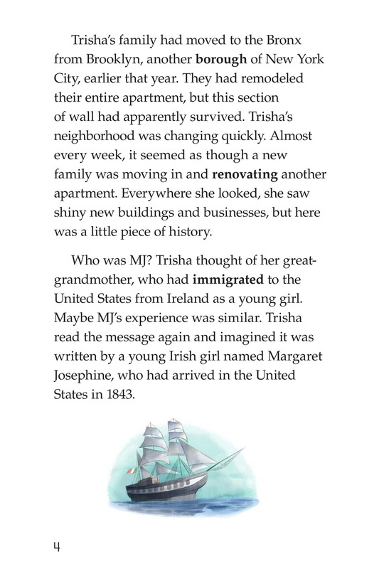 Book Preview For Writing on the Wall Page 4