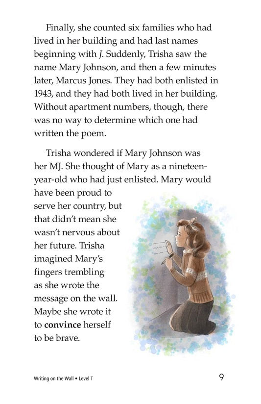 Book Preview For Writing on the Wall Page 9