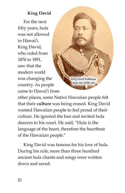Book Preview For Hula: The Heartbeat of Hawaii Page 10