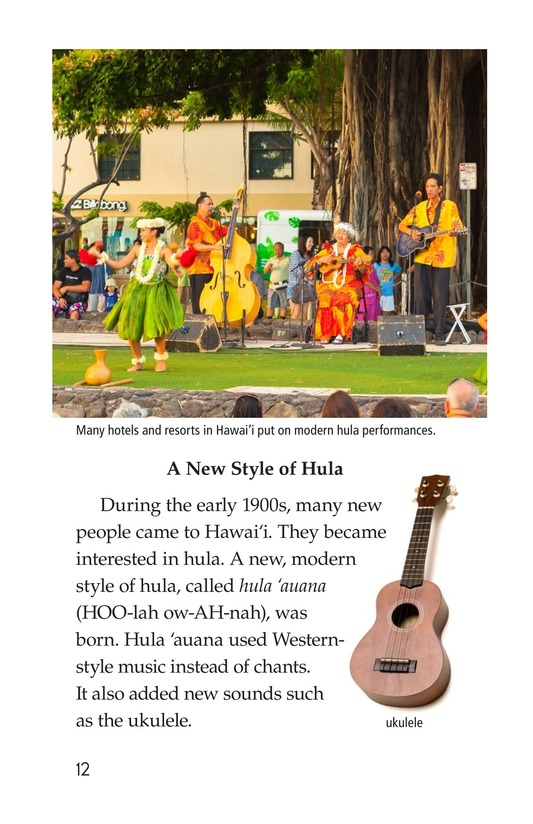 Book Preview For Hula: The Heartbeat of Hawaii Page 12