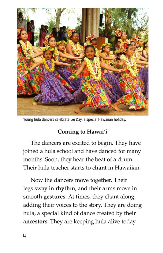 Book Preview For Hula: The Heartbeat of Hawaii Page 4