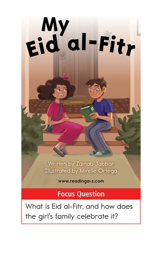 Book Preview For My Eid al-Fitr Page 1