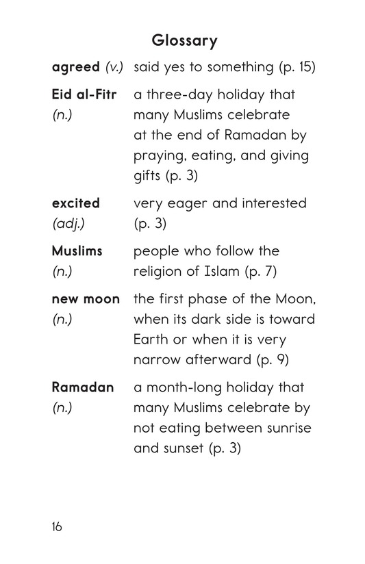 Book Preview For My Eid al-Fitr Page 16