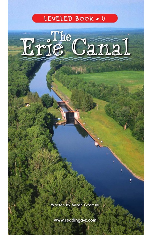 Book Preview For The Erie Canal Page 0