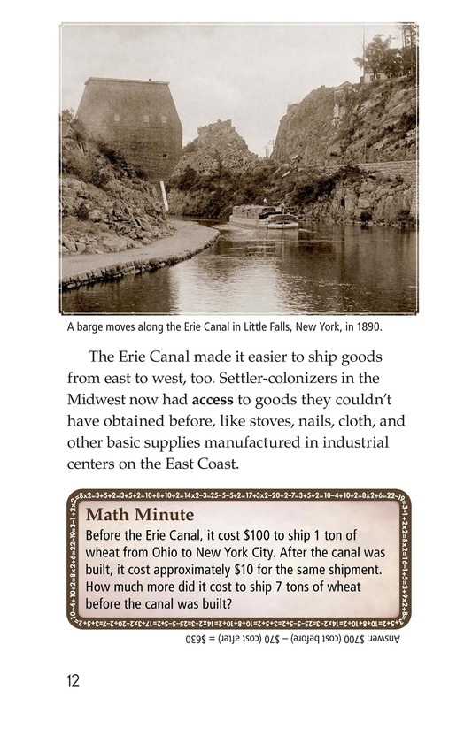 Book Preview For The Erie Canal Page 12