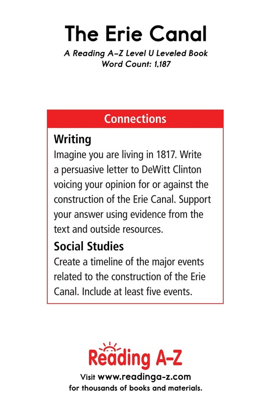 Book Preview For The Erie Canal Page 17