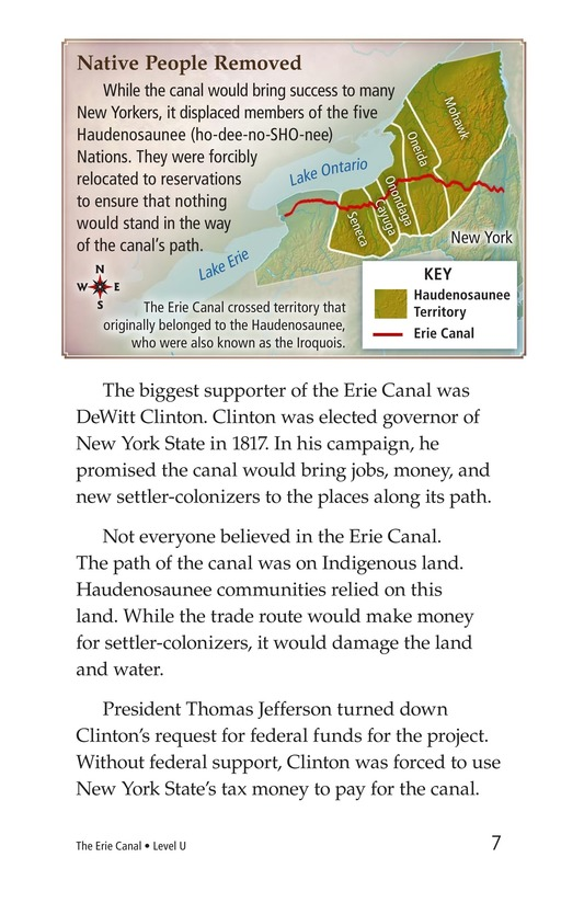 Book Preview For The Erie Canal Page 7