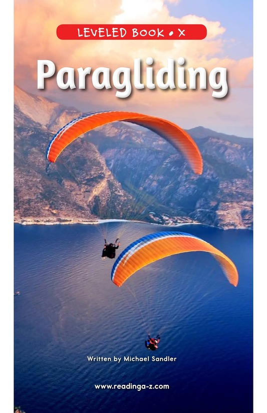 Book Preview For Paragliding Page 0