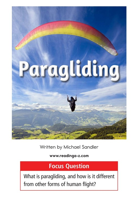 Book Preview For Paragliding Page 1