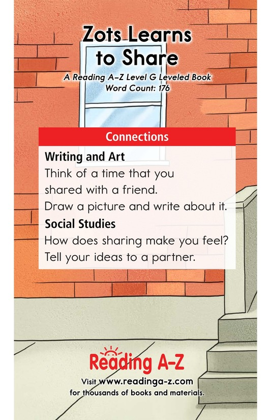 Book Preview For Zots Learns to Share Page 13