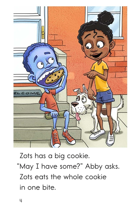 Book Preview For Zots Learns to Share Page 4