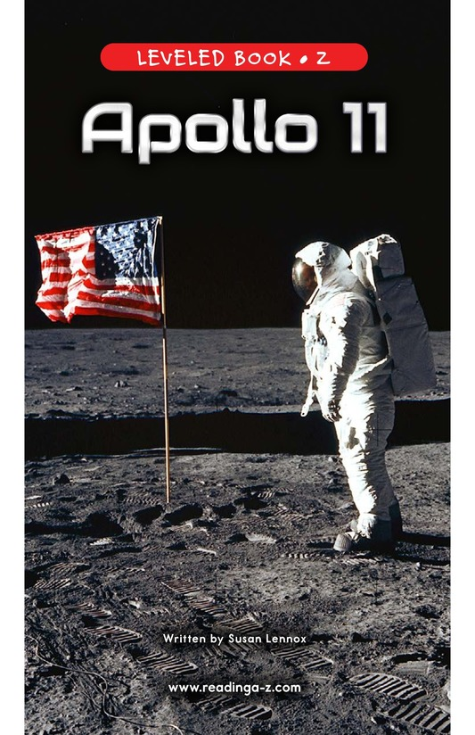 Book Preview For Apollo 11 Page 0
