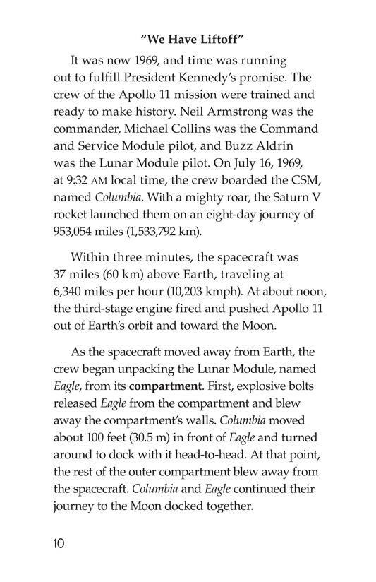 Book Preview For Apollo 11 Page 10