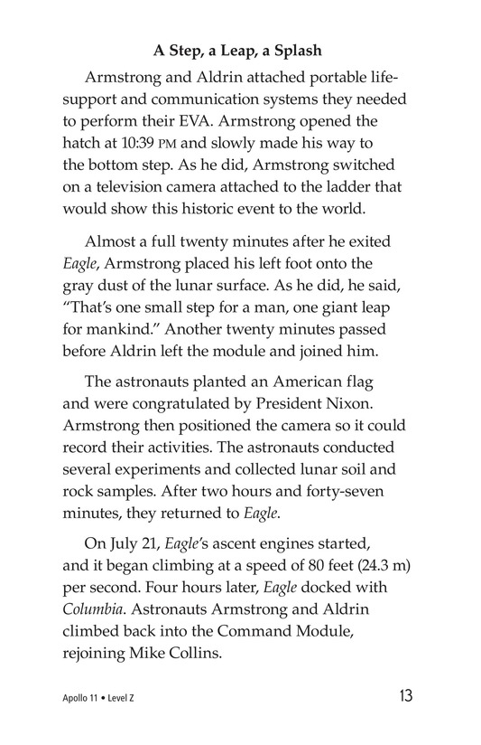 Book Preview For Apollo 11 Page 13