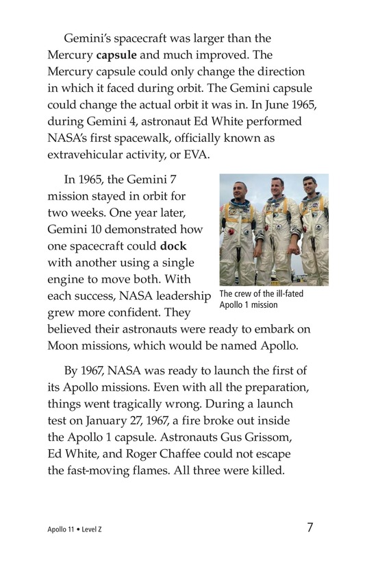 Book Preview For Apollo 11 Page 7