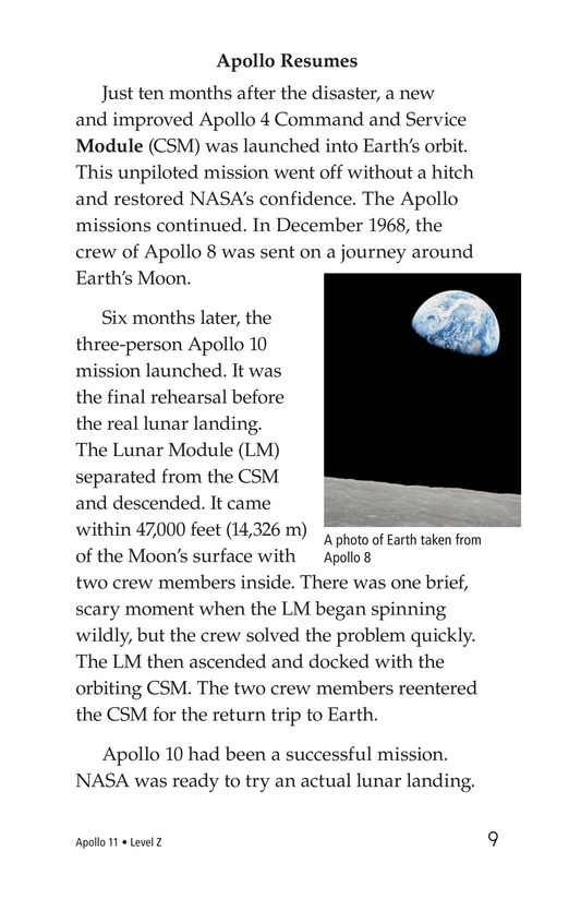 Book Preview For Apollo 11 Page 9