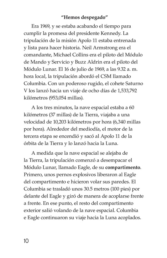 Book Preview For Apollo 11 Page 10