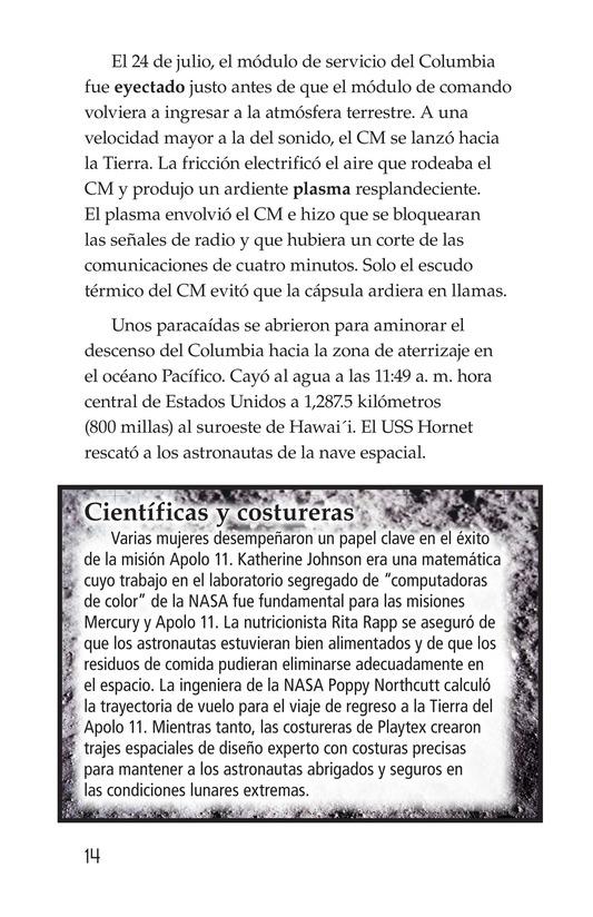 Book Preview For Apollo 11 Page 14