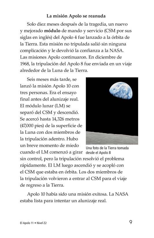 Book Preview For Apollo 11 Page 9