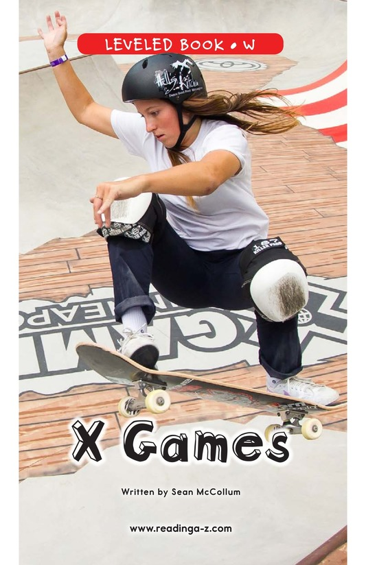 Book Preview For X Games Page 0