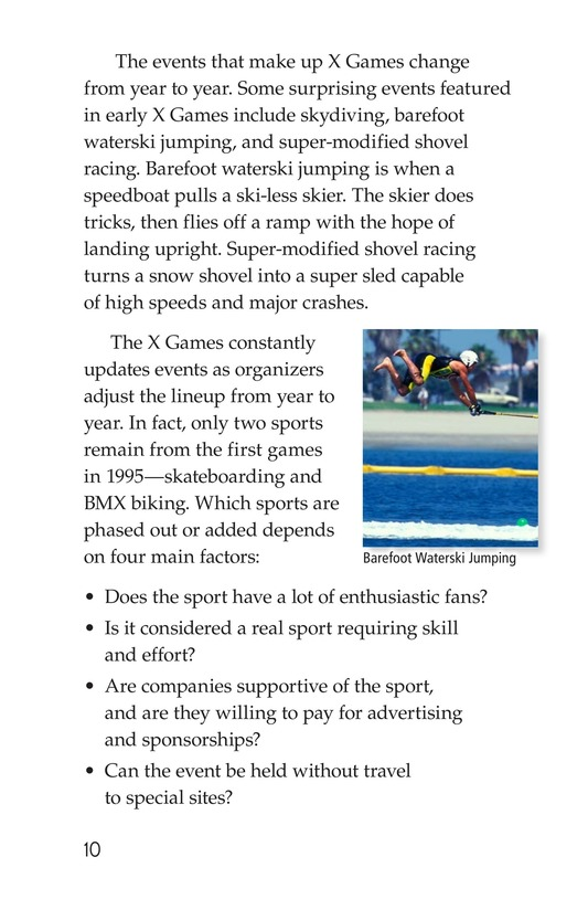 Book Preview For X Games Page 10