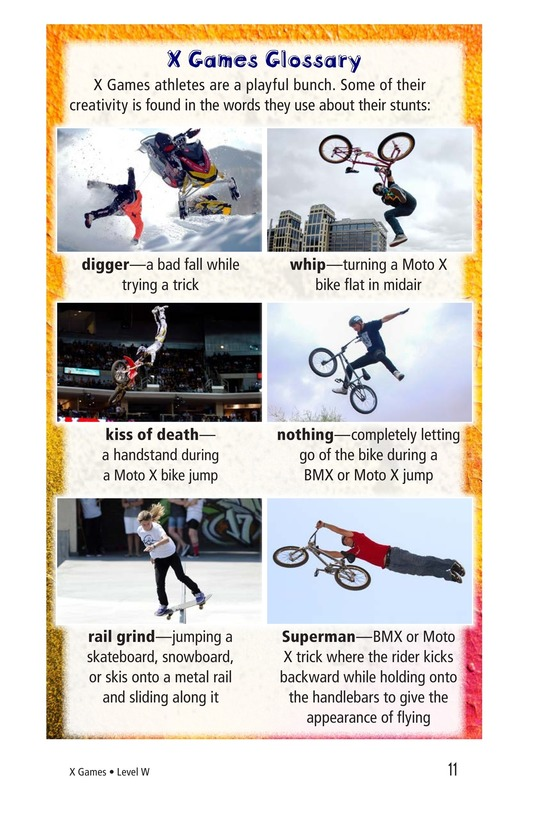 Book Preview For X Games Page 11